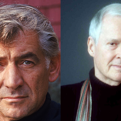 Leonard Bernstein and Ned Rorem